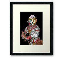 Firey And Bold Framed Print