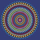 Geometric Mandala by dukepope