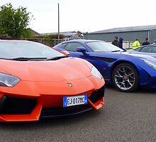 Lamborghini Aventador and supercars by Tom Gregory