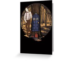 Dr Who Greeting Card
