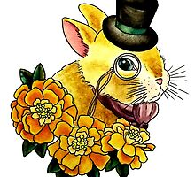 Top Hat Bunny by NaughtyMynx