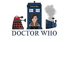 Doctor Who Photographic Print
