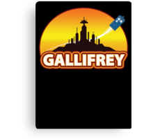 Gallifrey Canvas Print