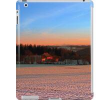Colorful winter wonderland sundown III | landscape photography iPad Case/Skin
