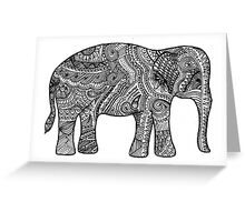 Wise Old Elephant Greeting Card