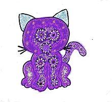 Cat iPhone Case by jmarie1