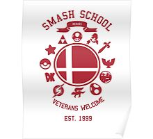 Smash School Veteran Class (Red) Poster