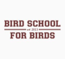 Bird School Which Is For Birds by TheShirtYurt