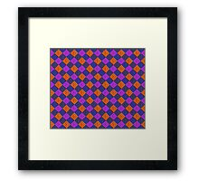 More Like Pixelate Tartan #2 Framed Print
