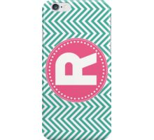 Chevron Letter R iPhone Case/Skin