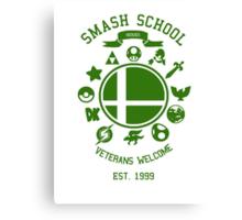 Smash School Veteran Class (Green) Canvas Print