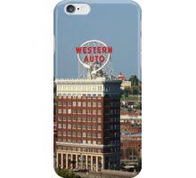Kansas City - Western Auto Building iPhone Case/Skin