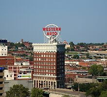 Kansas City - Western Auto Building by Frank Romeo