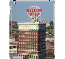 Kansas City - Western Auto Building iPad Case/Skin