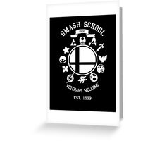 Smash School Veteran Class (White) Greeting Card