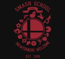 Smash School Newcomer (Red) T-Shirt