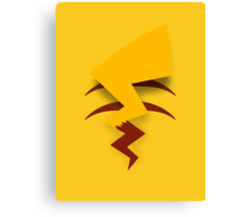 Pikachu Tail Canvas Print
