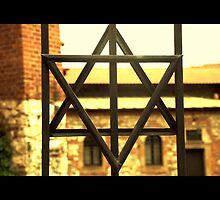 judish cross poland synagogue by Krzyzanowski Art