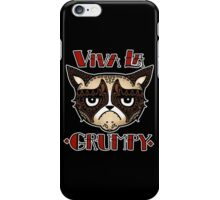 VIVA LA GRUMPY! iPhone Case/Skin