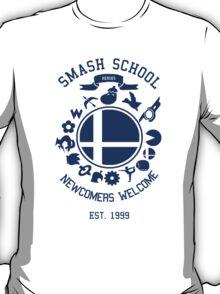 Smash School Newcomer (Blue) T-Shirt