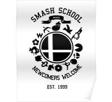 Smash School Newcomer (Black) Poster