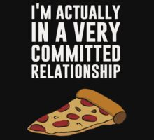 Pepperoni Pizza Love - A Serious Relationship by TheShirtYurt