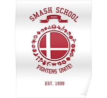 Smash School United (Red) Poster