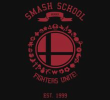Smash School United (Red) T-Shirt