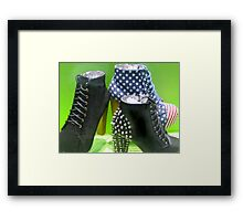 DAY 202 - (365 DAY PROJECT) - 'ONE DAY AT A TIME' Framed Print