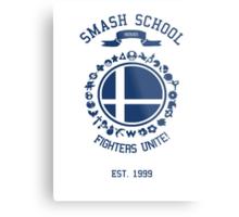 Smash School United (Blue) Metal Print