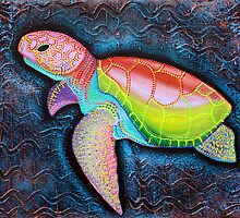 Kemp's Ridley Sea Turtle by Laura Barbosa
