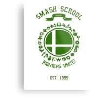 Smash School United (Green) Metal Print