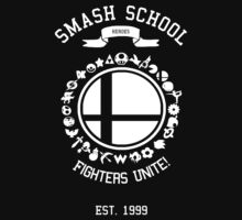 Smash School United (White) by Nguyen013