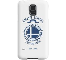 Smash School United (Blue) Samsung Galaxy Case/Skin