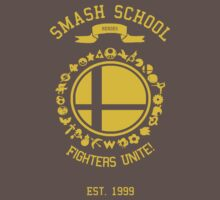 Smash School United (Yellow) T-Shirt