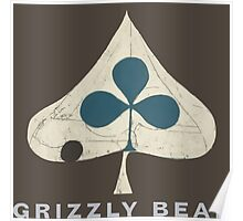 Grizzly Bear - Shields (Light Text) Poster