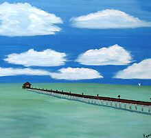 Long Pier Out by WhiteDove Studio kj gordon