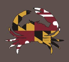 Maryland State Flag Crab  by USAswagg