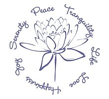 Serenity Tranquility Lotus (Blue) by Makanahele