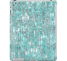 The Cold Never Bothered Me Anyway (Frozen Icicle Abstract) iPad Case/Skin