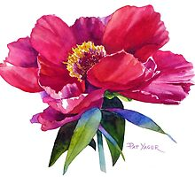 Watercolor Florals by Pat Yager by Pat Yager