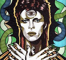 David Bowie by Angelique  Moselle