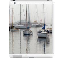 Foggy Mooring iPad Case/Skin
