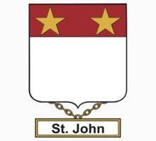 St. John Coat of Arms (English) Kids Clothes