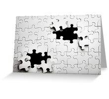 Jigsaw Greeting Card