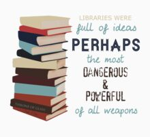 Libraries were full of Ideas T-Shirt