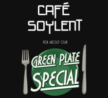 Soylent Cafe's Green Plate Special Kids Clothes