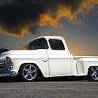 1956 Chevrolet Custom Pickup 4 by DaveKoontz