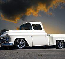 1956 Chevrolet Custom Pickup 4 by DaveKoontz