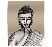 Shh ... do not disturb - Buddha - New Poster